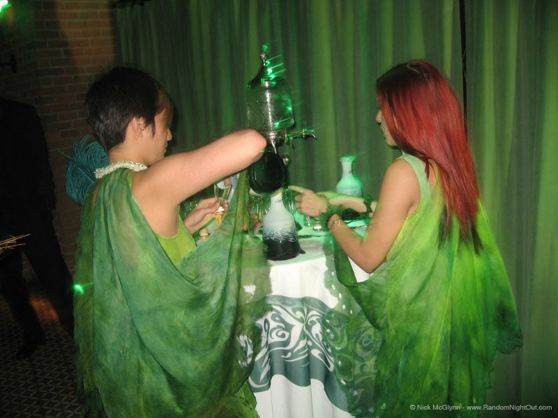 Counterpoint: Some People Were Totally Impaired on Absinthe Last Night