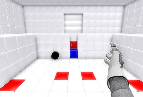 Spectator Mode: QUBE (Or, Portal With Power Gloves)