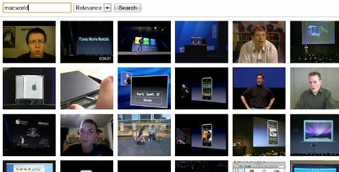 Wibe7.tv Provides Thumbnail-Only YouTube Search Results