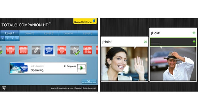 Learn 20 Languages With Rosetta Stone's New iPad App