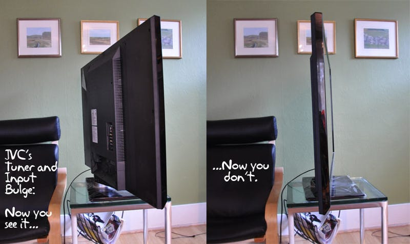 Review: The World's Thinnest LCD HDTVs