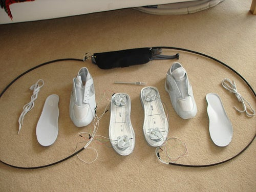 Nike Shoes Get Outfitted With Wii Balance Board Controls