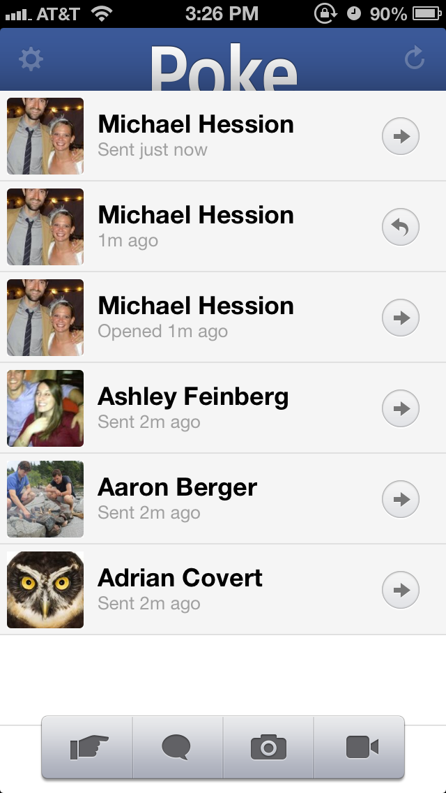 Poke: Facebook Just Cloned Snapchat (Update: Hands-on)