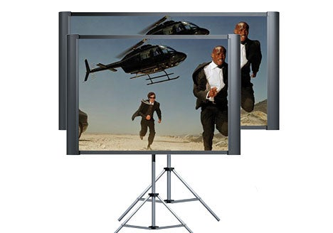 Epson Duet Projector Screen Does 4:3 and 16:9