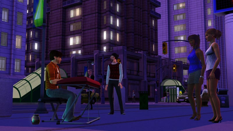 The Sims 3 Late Night Adds Club Hopping Vampires