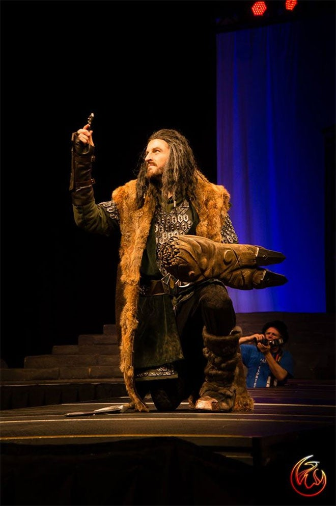 Not Sure If Actual Thorin Oakenshield Actor Or Cosplayer