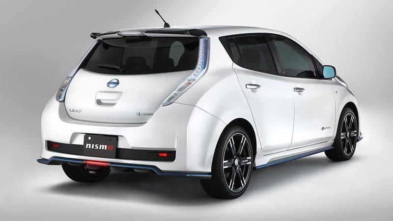 NISMO Nissan Leaf Is The Leaf I Wanted At The Drag Strip