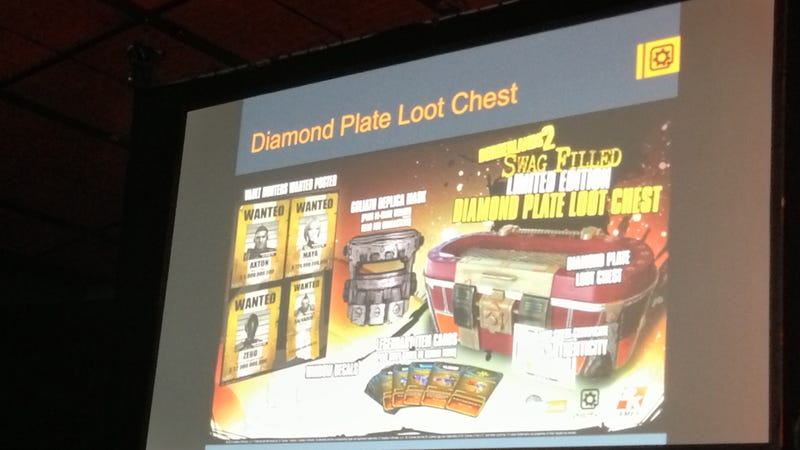 Here's A New, Limited Edition Borderlands 2 Loot Chest [Update: Image Of Loot Chest]
