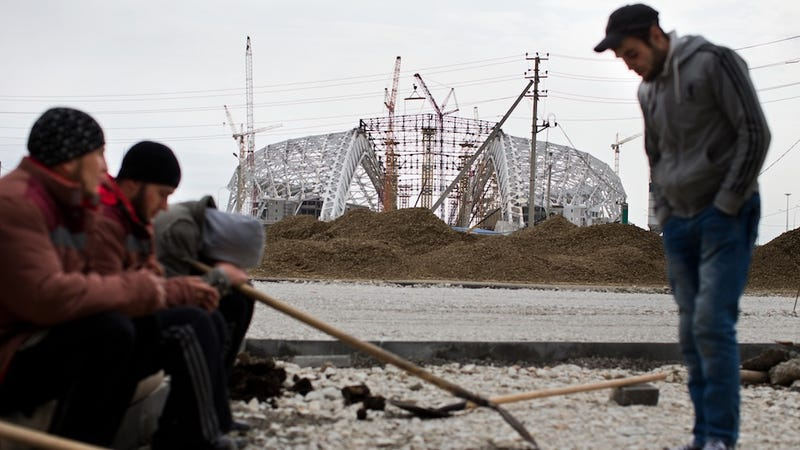 Worried About The Sochi Weather, Russia Has Begun Hoarding Snow For The Olympics