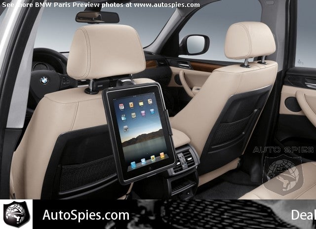 BMW Kicks Off Inevitable In-Car DVD Player Decline with OEM iPad Docks