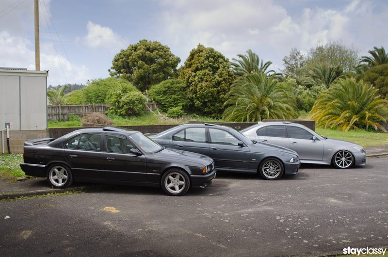 The BMW 5 Series: 3 Generations of V8 Sedans