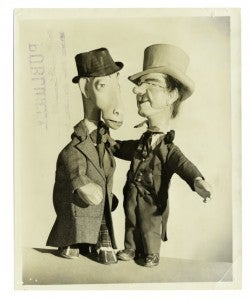 Semi-creepy, Yiddish-speaking puppets took Manhattan a half-century before The Muppets