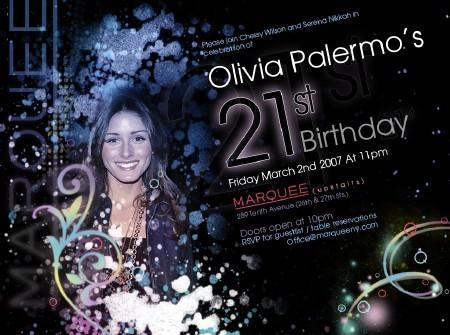 See You At Olivia Palermo's Party Tonight?