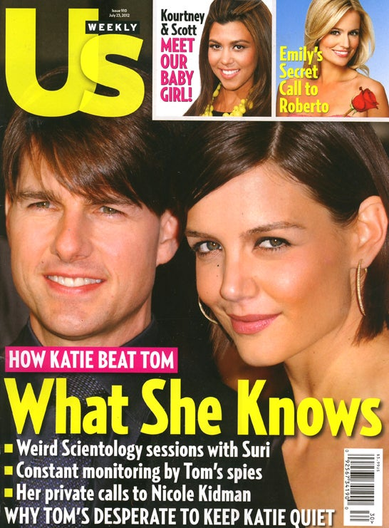 This Week In Tabloids: Katie Left Tom Before Scary Scientologists Could Get to Suri