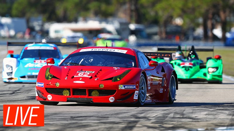 Ask The Ferrari Racing Driver In That Crazy Daytona 24 Crash Anything