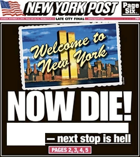 Gawker Guessing Game: The New York Post's Heavy Metal Headline