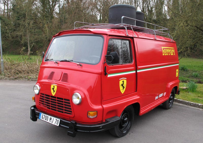 Niki Lauda's Ferrari Van From Rush Is Up For Grabs