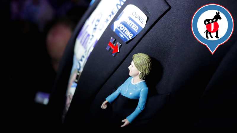 Day 2 of the DNC: A Reminder That Hillary is a Woman