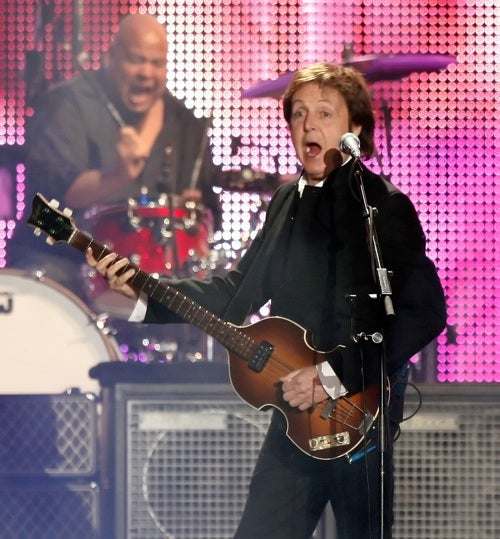 Sir Paul Is Singing ______ Just For You