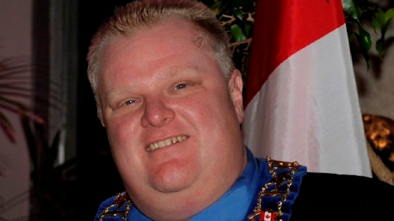 Report: Rob Ford Fought Other Residents, May Have Used Drugs in Rehab
