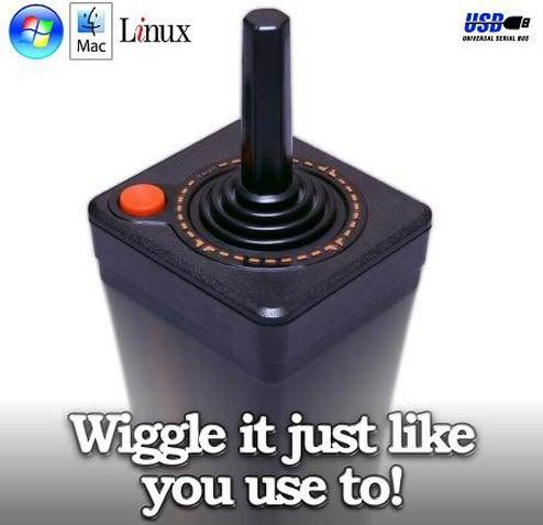 Classic Atari Joystick Goes USB