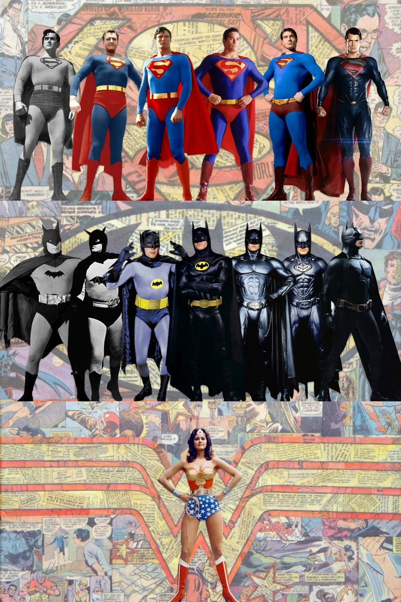 A History of DC's Most Famous Live-Action Costumes