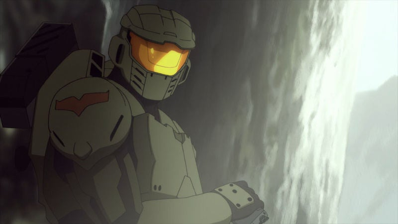 Spike Showing Halo Legends Anime Clips Tonight