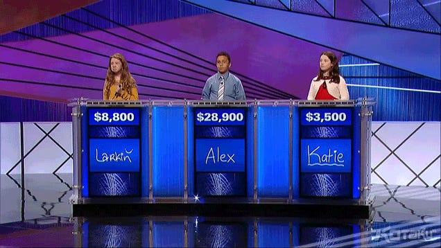 Jeopardy Video Game Question Is… Weird