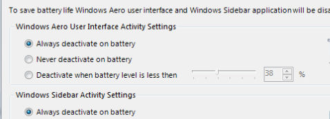 Improve your battery life with Vista Battery Saver