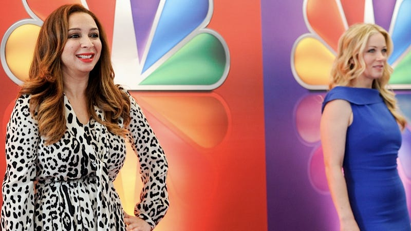 Maya Rudolph's Pregnancy Is Completely Ruining Up All Night's Chances of Being Saved