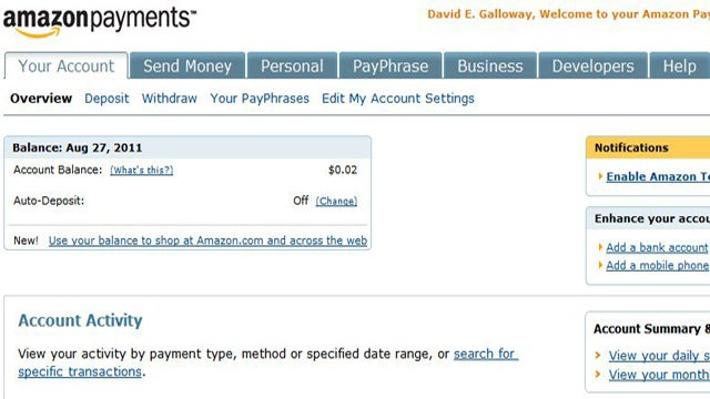 Use Amazon WebPay to Meet Rewards Card Minimum Spending Requirements