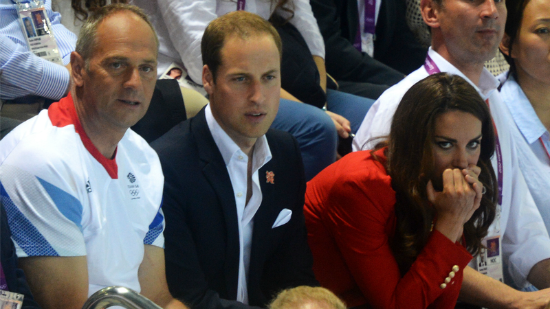 Ryan Lochte's Speedo Has an Interesting Effect on Kate Middleton