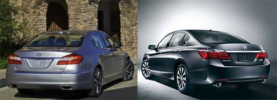 Friday Evening Question #5: Automotive Dopplegangers