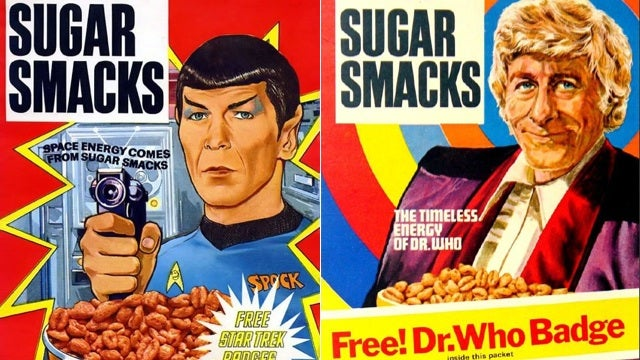 Star Trek and Doctor Who unite over... sugary cereal?