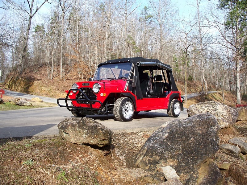 Mini Moke with Honda B16