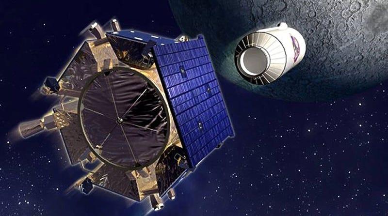 NASA's New Moon Missions Hope To Crash And Burn