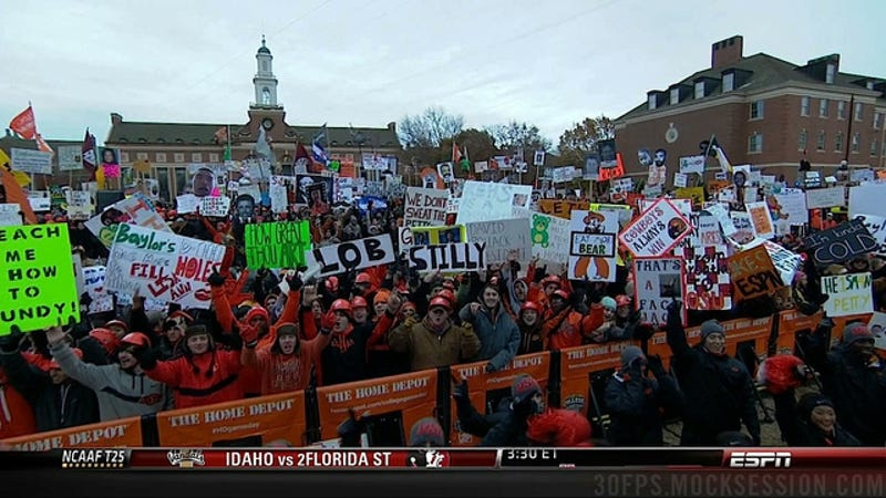 Hairy Balloon Balls: Your Baylor-OK. State GameDay Sign Roundup