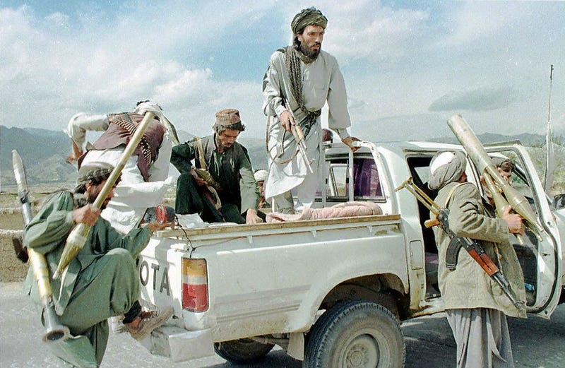 Have the Taliban Abandoned Toyotas for American Pickup Trucks?