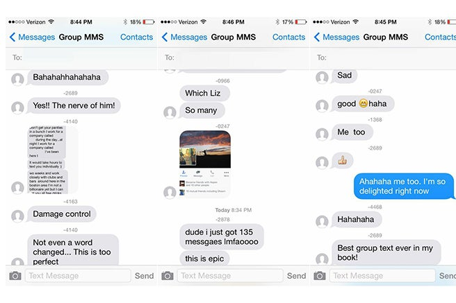 Busy Douchebag Tries to Text 32 Tinder Matches at Once