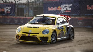 Here's Your First Look At The Rallycross Beetle At Red Bull GRC Los Angeles