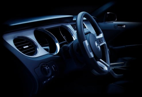 First Official Photo Of 2010 Ford Mustang Dash