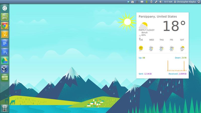 Goo-buntu Desktop