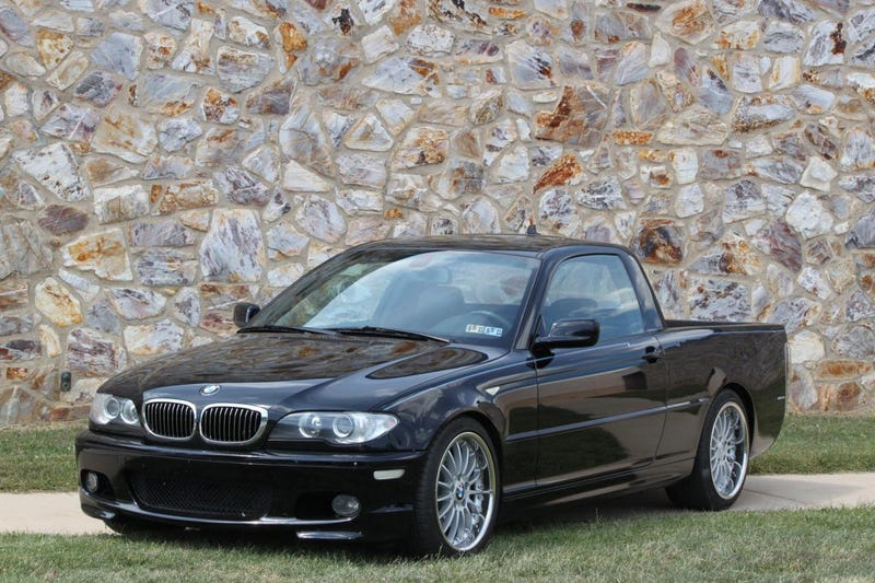 E46-amino: German Sport Coupe Meets American Truck