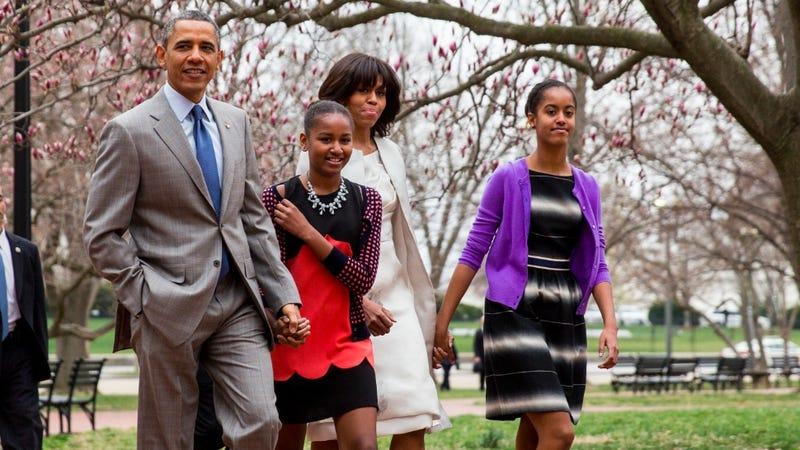 Fashion Scavenger Hunt: Help Us Dress Like Sasha Obama on Easter