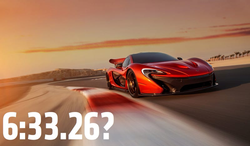 Did The McLaren P1 Just Obliterate The Lap Record At The Nurburgring?