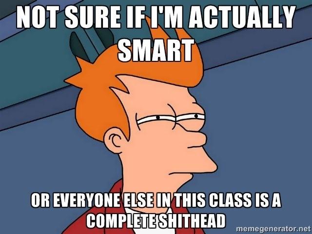 Ah, College Exams...