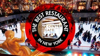The Best Restaurant in New York Is: The Rockefeller Center Ice Rink