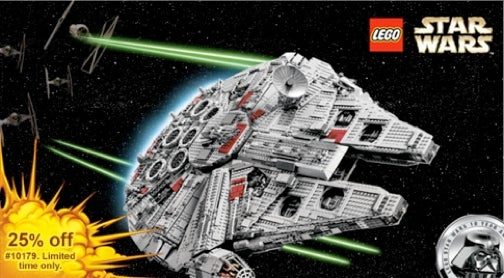 Lego Takes $125 Off Millennium Falcon, Gives Chance To Win First Edition Set