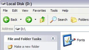 Hide and Lock a Folder in Windows XP
