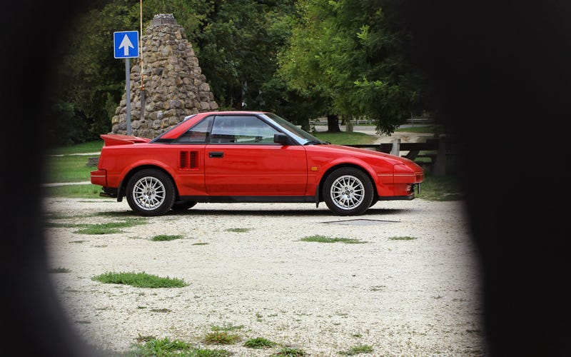 Toyota MR2 (AW11) from 1986 - an Oppo review
